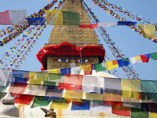 Boudha Nath in Kathmandu