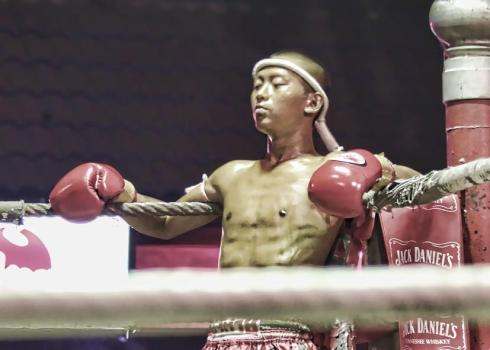 Muay Thai Match, Chiang Mai