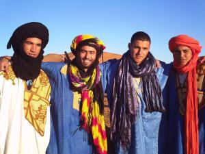 our desert entourage