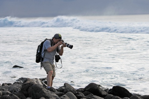 My Friend Jason, the best travel photographer I know - but it comes at a cost - very expensive, very heavy gear.