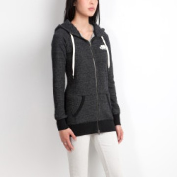 A basic hoody with pockets is ideal for a cozy nap on the plane